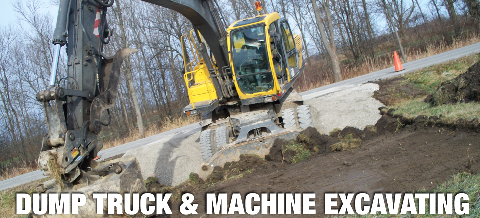 DUMPTRUCKMACHINEEXCAVATING